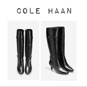 Cole Haan Knee High Leather Boots